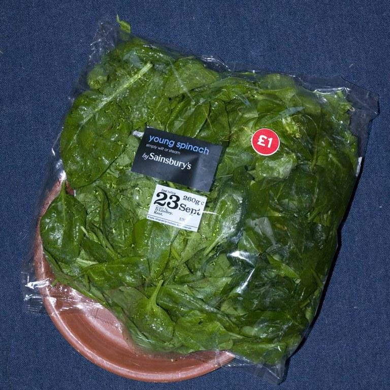 Spinach 630g