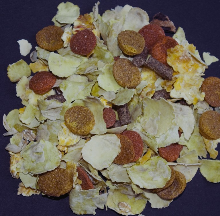 Muesli mix with lots of flakes